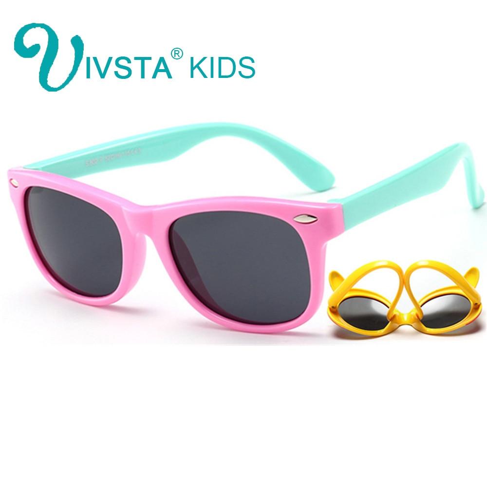 IVSTA Fëmijët për syze dielli Vajzat Veshjet gota Kornizë Fëmijëve për syze dielli Foshnja për fëmijë Verë 2018 Polarizuar UV400 Kids Sunglasses Boys