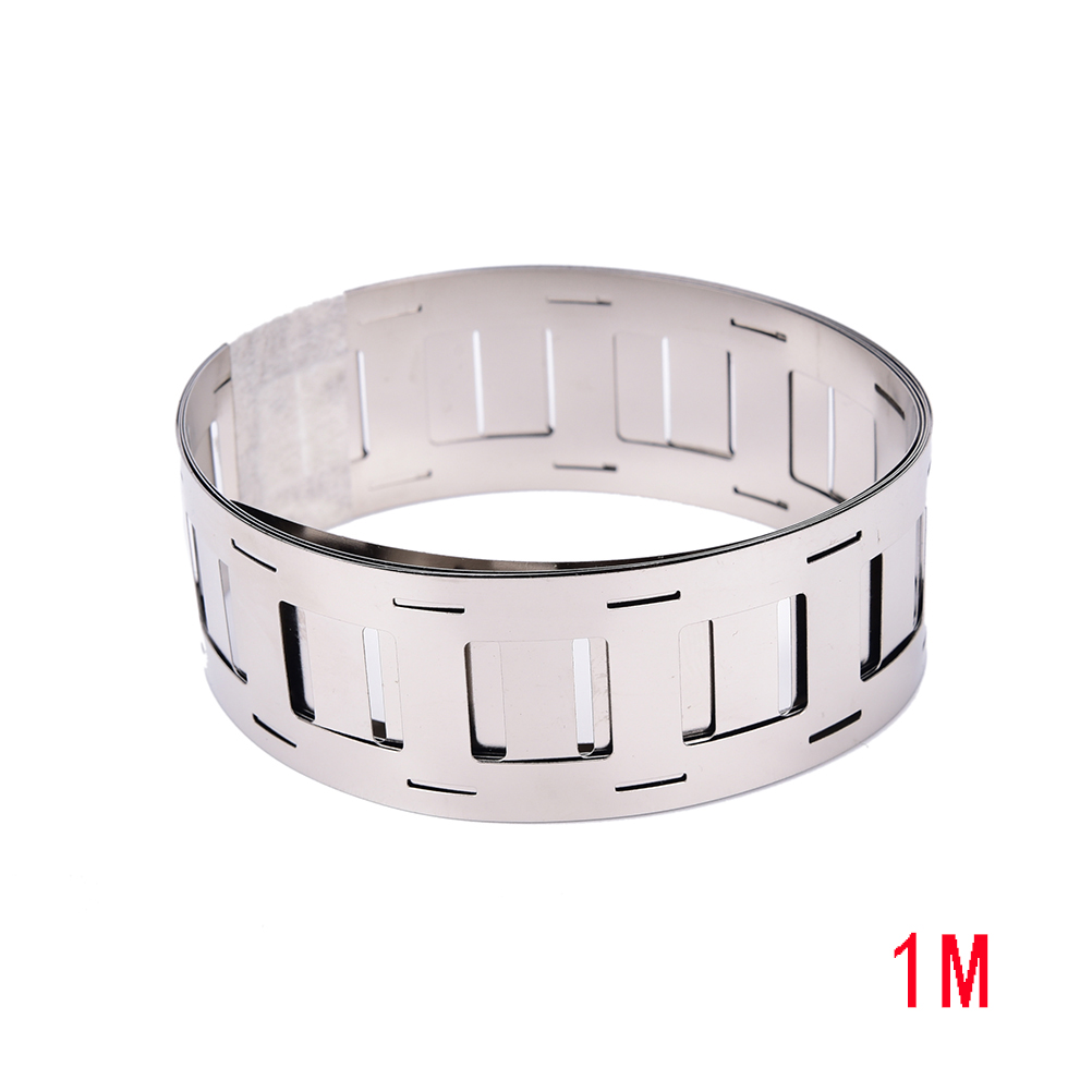1M 99.96%Pure Ni Plate Nickel Strip Tape For 18650 Battery Nickel Strip Li-ion Batteries Ni Plate Cylindrical Battery 0.15*27mm