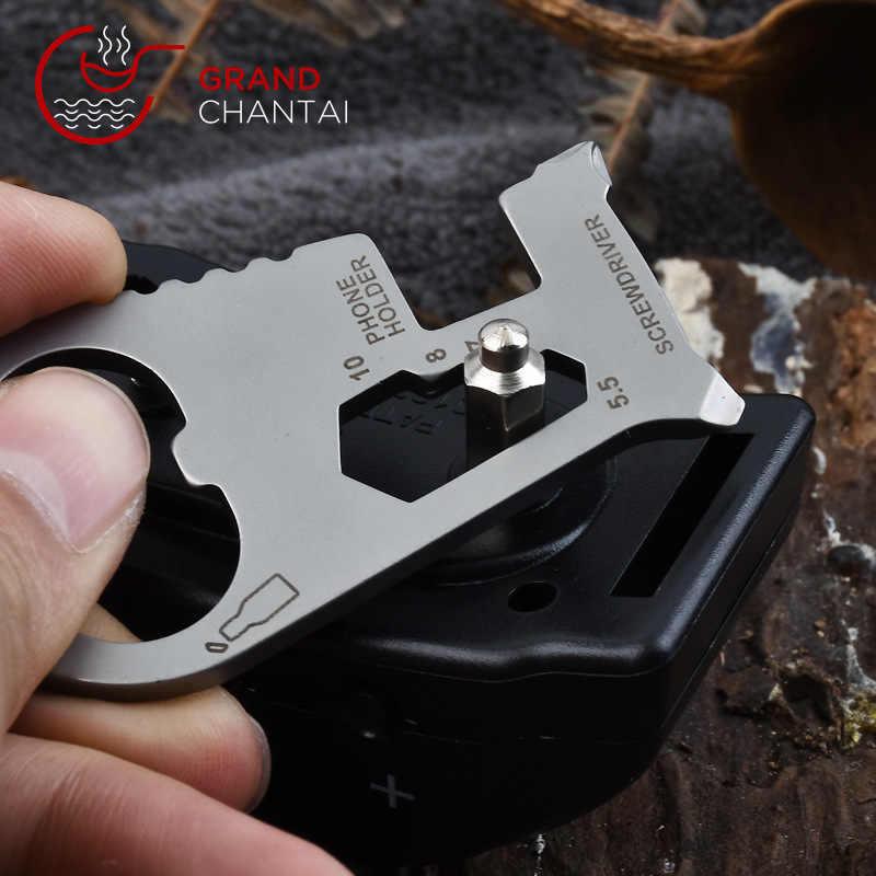 EDC Многофункциональный брелок для ключей аксессуары для кемпинга Мультитул для Велосипедный брелок для пикника на открытом воздухе карманные инструменты