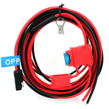 OPPXUN DC Power Cable Cord 12V Accessories for Motorola Mobile Car Radio GM300 G