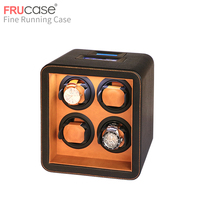 watch winder box watch display watch cabinet watch collector with LED touch screen display