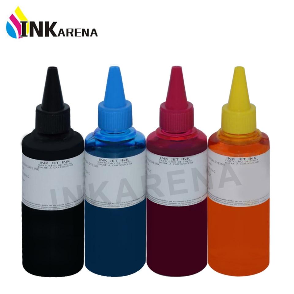INKARENA 100 мл универсальный совместимый набор чернил для заправки Замена для HP для Canon для Brother для Epson чернила для принтера ciss Емкость