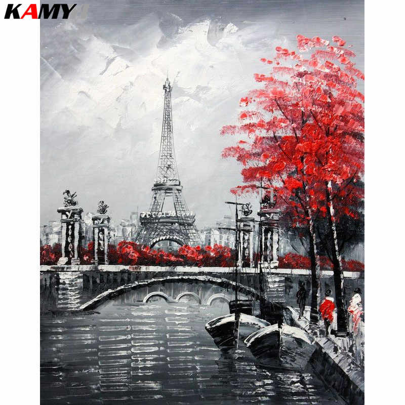 NEW Wedding decoration gift diamond painting full square/Round paris,diy diamond mosaic,5d diy,diamond embroidery landscape XY1