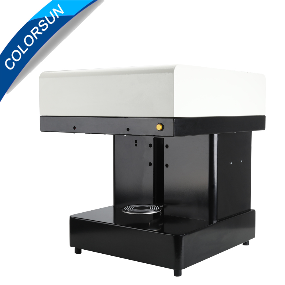 Coffee Printer cake Printing machine 3D edible Printer Selfie coffee printing machine with edible ink schwarzkopf краситель без аммиака 3 62 темный коричневый шоколадный пепельный essensity permanent colour 60 мл