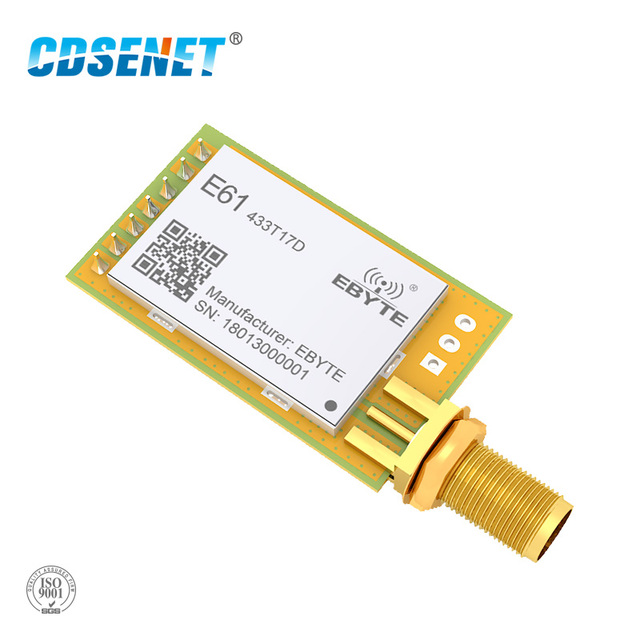 E61 433T17D Modbus 433MHz RF Transceiver High Speed Continuous Transmission Transmitter and Receiver 433 MHz Wireless rf Module