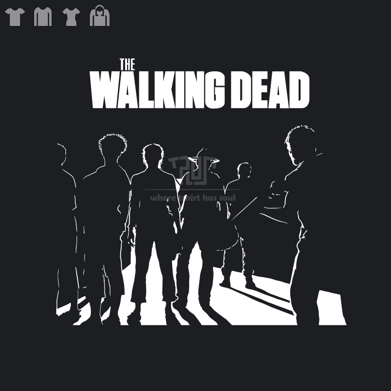 walking dead tshirt Carol Rick Daryl men women short sleeve t-shirt Gildan 100% premium  ...