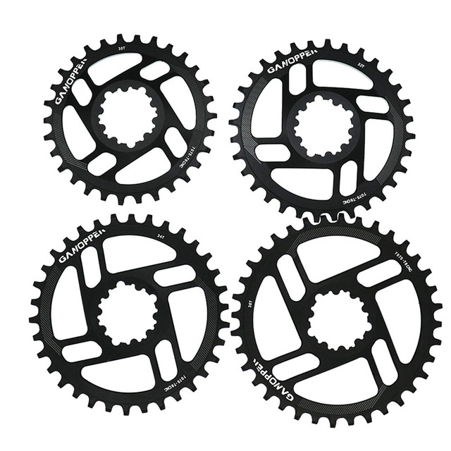 Ganopper Gxp Round Chainwheel Bicycle Crankset Mountain Bike 1x