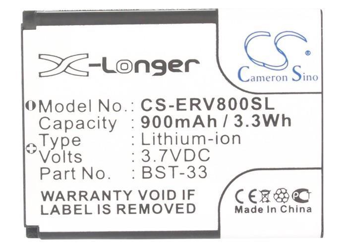 Battery For SONY ERICSSON W715, W850i, W880i, W890, W900i