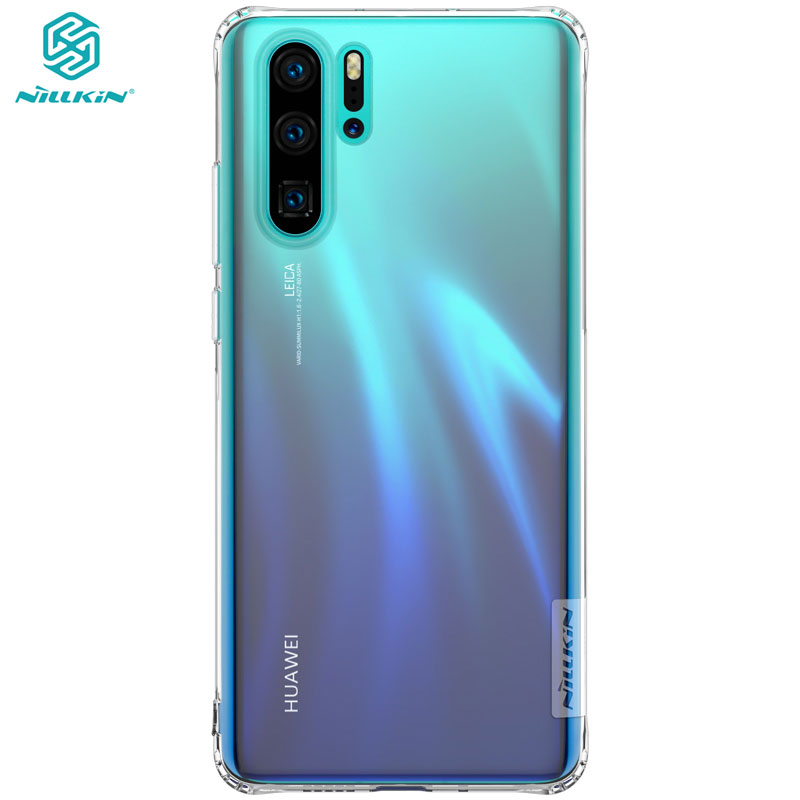Fitted Cases Huawei P30 Pro Case Nillkin Nature Series Transparent Clear Soft Tpu Case For Huawei P30 Pro P30pro Cover Strengthening Sinews And Bones