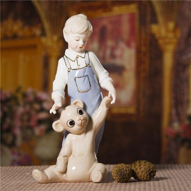 Porcelain-Boy-and-Teddy-Bear-Figurine-Ha