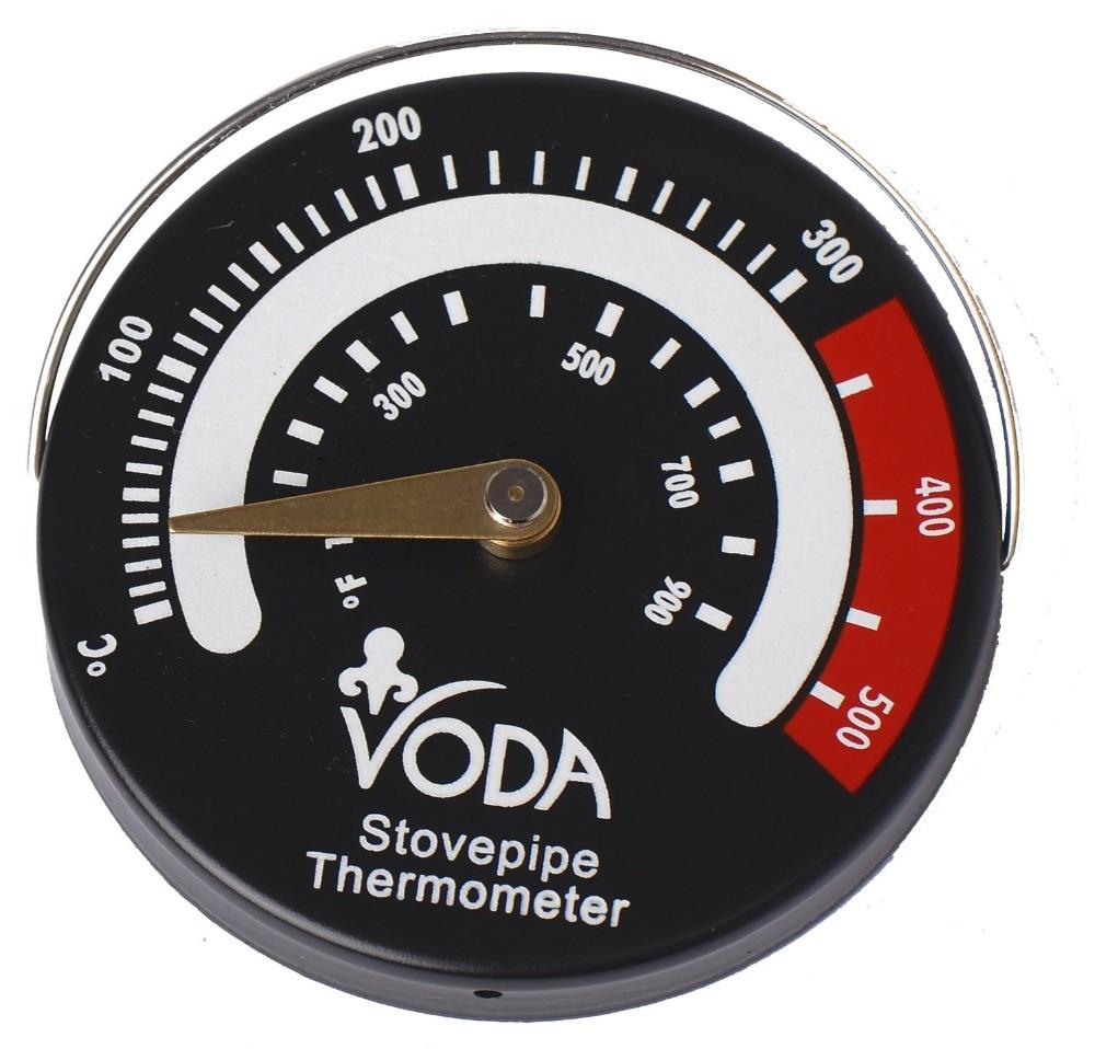Magnetic Log Burner & Stove Pipe Thermometer