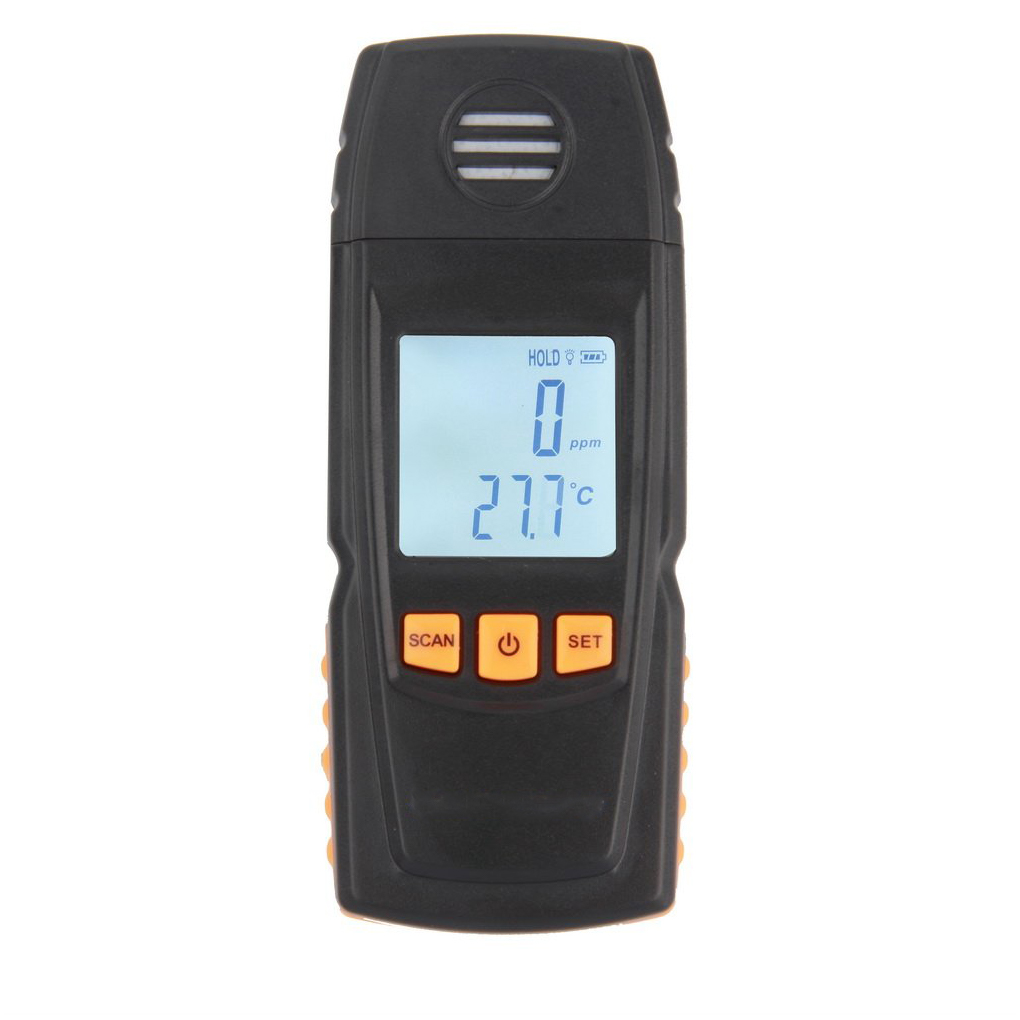 Handheld CO Monitor Detector Meter Tester High Precisio Handheld Gas Leak Tester Carbon Monoxide Meter 17 * 8 * 4cm