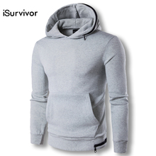 2017 Men Spring Hoodies and Pullovers Sweatshirts Tracksuits Men s Casual Fashion Slim Fit Solid Color
