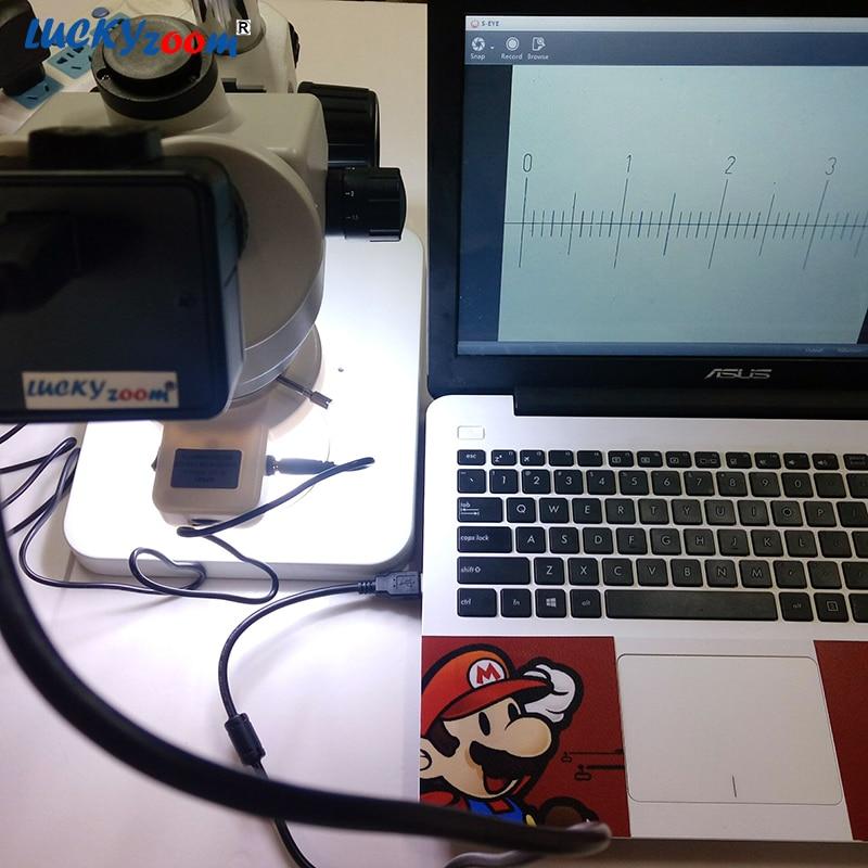 Luckyzoom HD 5MP USB Cmos Cámara Adaptador de microscopio ocular - Instrumentos de medición - foto 5