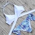 2016 vendaje sexy bikini brasileño bikinis mujeres traje de baño biquini traje de baño Empuja Hacia Arriba Bikini Set maillot de baño Caliente!