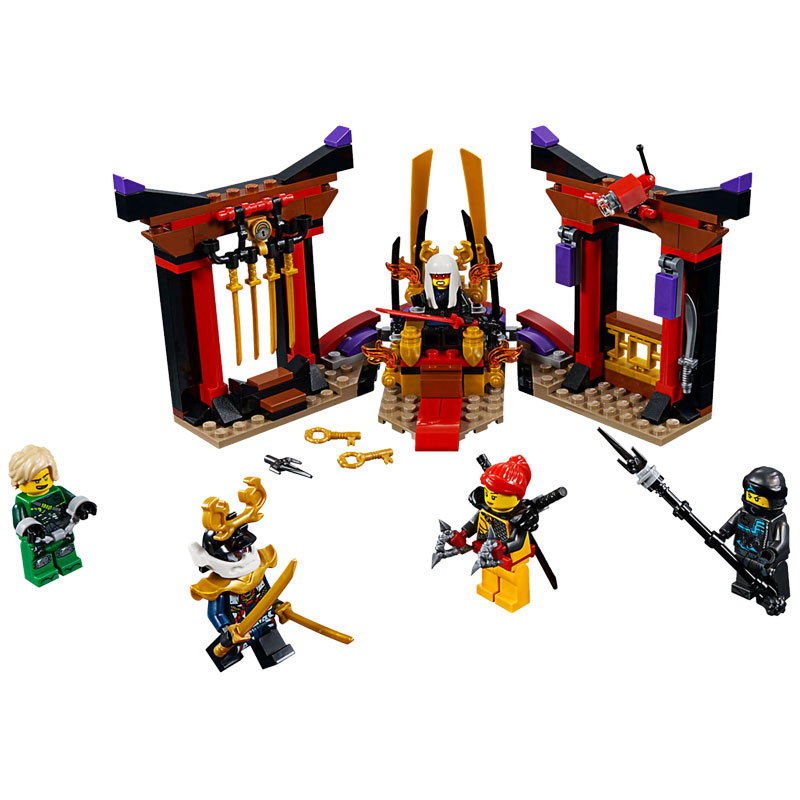 New Release For 2018! 70651 LEGO Ninjago Throne Room Showdown 221 Pieces Age 6