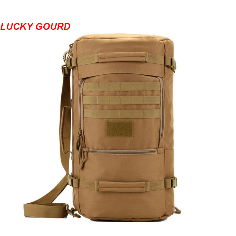 Large Capacity Men Travel Bag Outdoor Mountaineering Backpack Hiking Camping Water-proof Nylon Bucket Shoulder Bags S279 2016 new arrival large capacity travel backpack mountaineering bag oxford men s bag free shipping