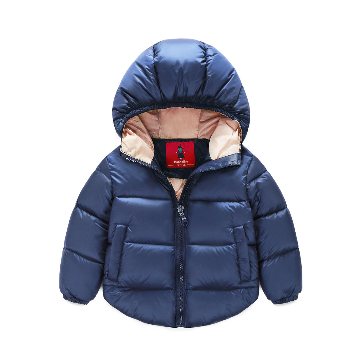 Small and medium sized children in winter new boy and girl small and medium - sized children 's clothing baby warm down jacket