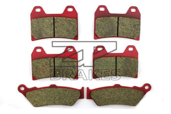 Ceramic Brake Pads Front + Rear For MOTO GUZZI California Jackel/Special 1100 1999-2001 OEM New High Quality ZPMOTO image
