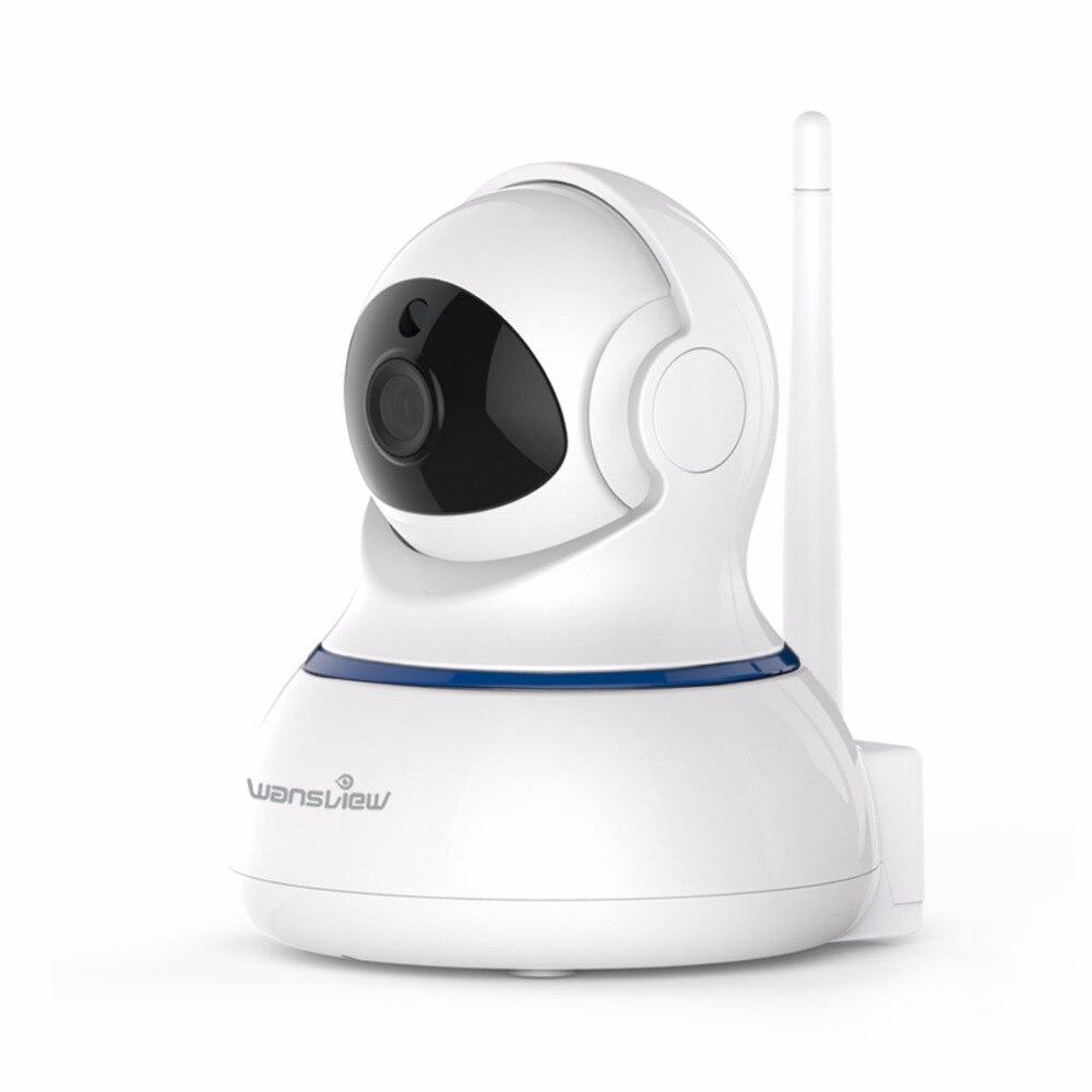 Wansview Q3s Sans Fil 2.0mp HD 1080 P Intérieur Caméra IP CCTV Caméra WiFi de Sécurité À Domicile D'alarme De Surveillance Caméra Moniteur Pan/Tilt