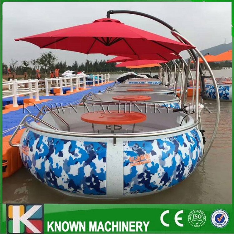 Hot Selling PE Material Bbq Donut Boat With Free Shipping With Free Shipping