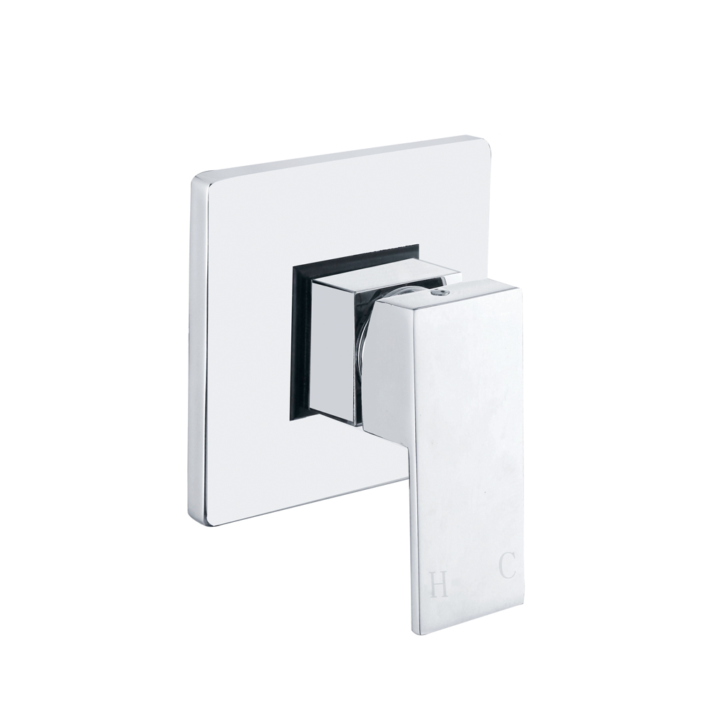 high quality concealed shower mixer promotion shop for high brass square bath mixer in fall concealed chrome finish single function shower system tap faucet valve control kit part