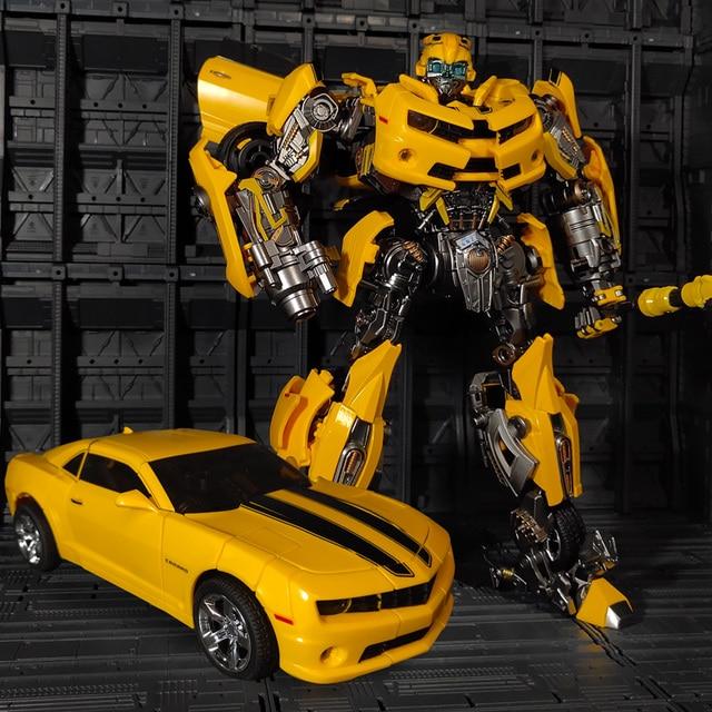 WJ Transformation MPM 03 MPM03 MPM 03 film dabeille jaune surdimensionné 28CM Version alliage Collection figurine Robot jouets cadeaux