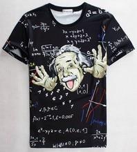 2017 [Mikeal] Math science T-shirt for boy/girl Graphic 3d t shirt men/women funny print Einstein t-shirt casual tops 1860