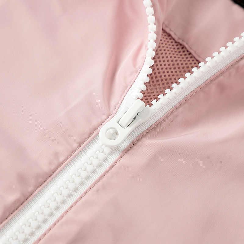 SEMIR Pullover jacke frauen 2019 herbst neue brief stickerei lose übergroßen lose beiläufige mit kapuze jacke für outdoor