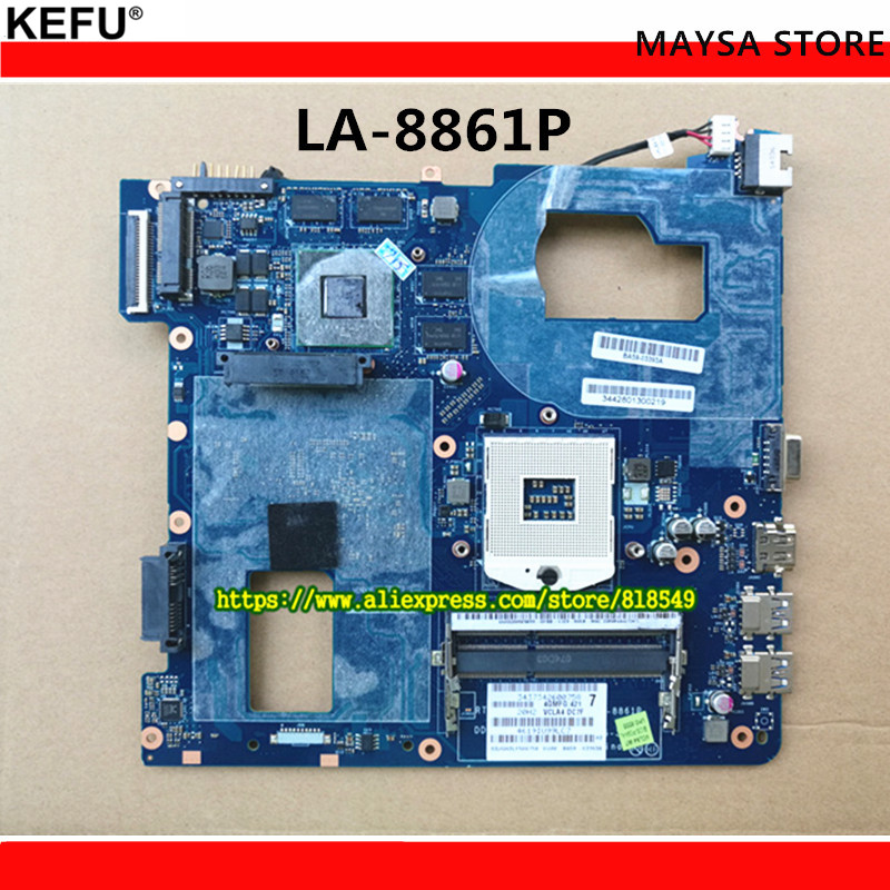 Laptop Motherboard Fit For Samsung NP350 NP350V5C 350V5X Notebook Mainboard QCLA4 LA-8861P BA59-03541A BA59-03538A BA59-03393A