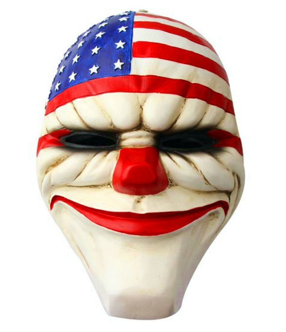 Cosplay Payday 2 Dallas Halloween Party Mask Decorative Resin Collection