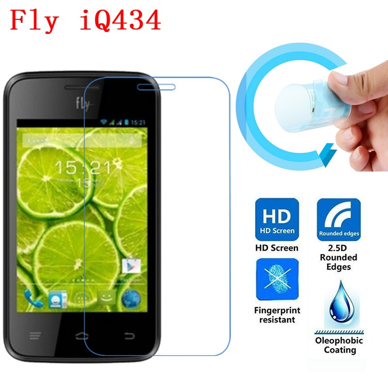 Fly IQ434 Screen Protective Film, 2.5D Ultra-Thin HD Clear Soft Pet Screen Protector Film for Fly IQ434 ERA Nano 5