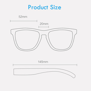 Image 5 - Xiaomi Mijia TS מקוטב משקפי שמש TAC מקוטב עדשות TR90 מסגרת הגנת UV חיצוני ספורט נסיעה נהיגה משקפי שמש