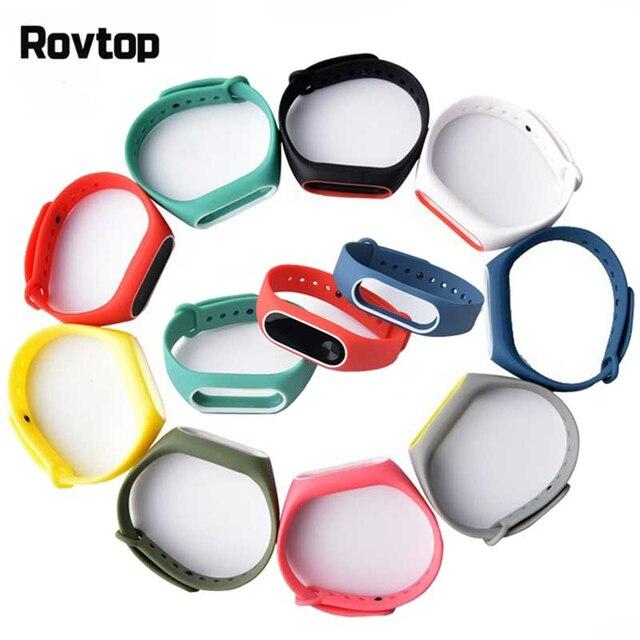 Bracelet For Xiaomi Mi Band 2 Sport Strap Watch Silicone Wrist Strap For Xiaomi Mi Band 2 Bracelet Miband 2 Wriststrap