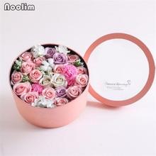 Мыло для ванны ручной работы с ароматом, Розовое Мыло, лепестки цветов, Подарочная коробка для свадьбы, День Святого Валентина, подарок на день матери, подарок на День учителя