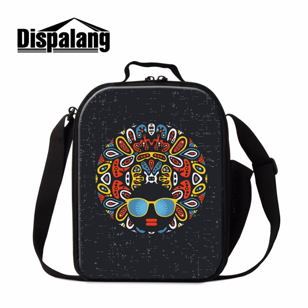 Dispalang Painted Personalized Lunch Bags For Women Thermal Food Tote Bags For Kids Insulated Lunch Cooler Bag Sac Isotherme