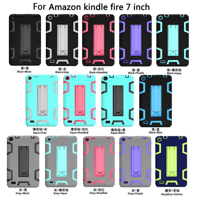 Kindle Fire 7 Case 2015 Lapsed Ohutu armor Shockproof raskeveokite - Tahvelarvutite tarvikud - Foto 6