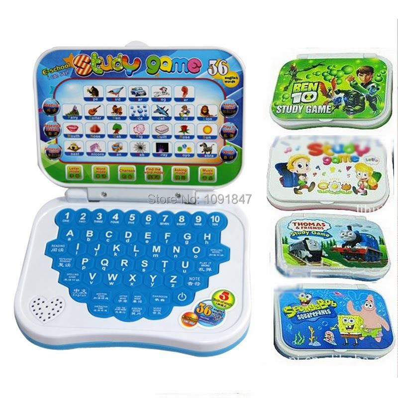 Раннего детства Обучающая машина мини английский и китайский Компьютерные игрушки детей