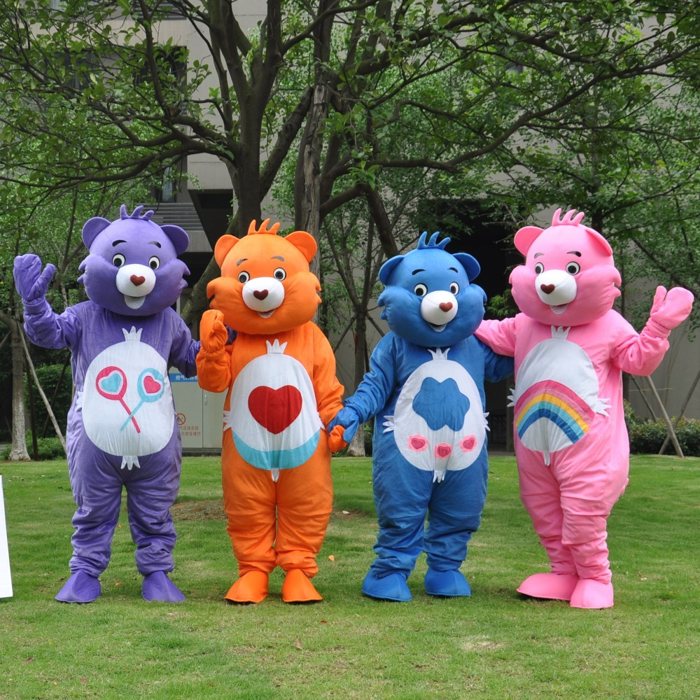 Professional New CARE BEAR Mascot Costume Grumpy Bear Mascot Costume Fancy Dress Adult Size Free Shipping-in Anime Costumes from Novelty u0026 Special Use on ... & Professional New CARE BEAR Mascot Costume Grumpy Bear Mascot Costume ...