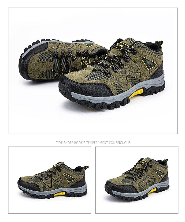 respirável sapatos de escalada de montanha ao