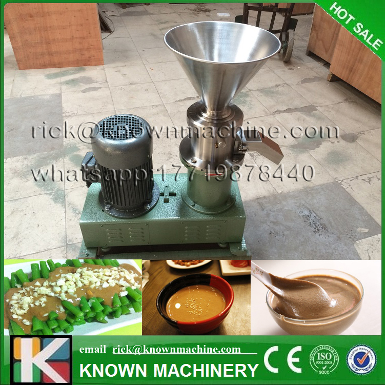 Split type Maker Pigment/Jam/Paste Grind peanut butter colloid mill machine Full Stainless steel free shipping
