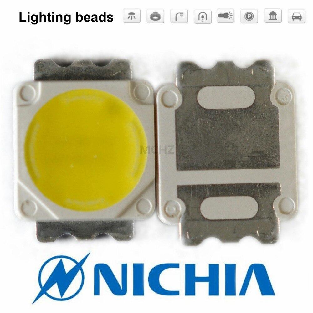 80 pièces 5050 5060 5054 3 W 3 V-4.2 V blanc chaud haute puissance émetteur de LED blanc chaud naturel blanc NICHIA NS6W183A NS6W183T