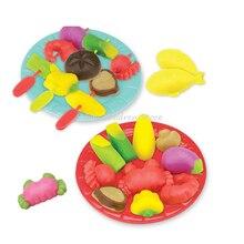 Diy 3d пластилина, лепка из глины fimo пластилин play тесто мягкой грязи инструментов polymer clay развивающие игрушки для детей kids