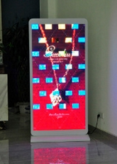 P6 Fullcolor Rental AdvertisingWifi Led Display Floor Standing Digital Signage