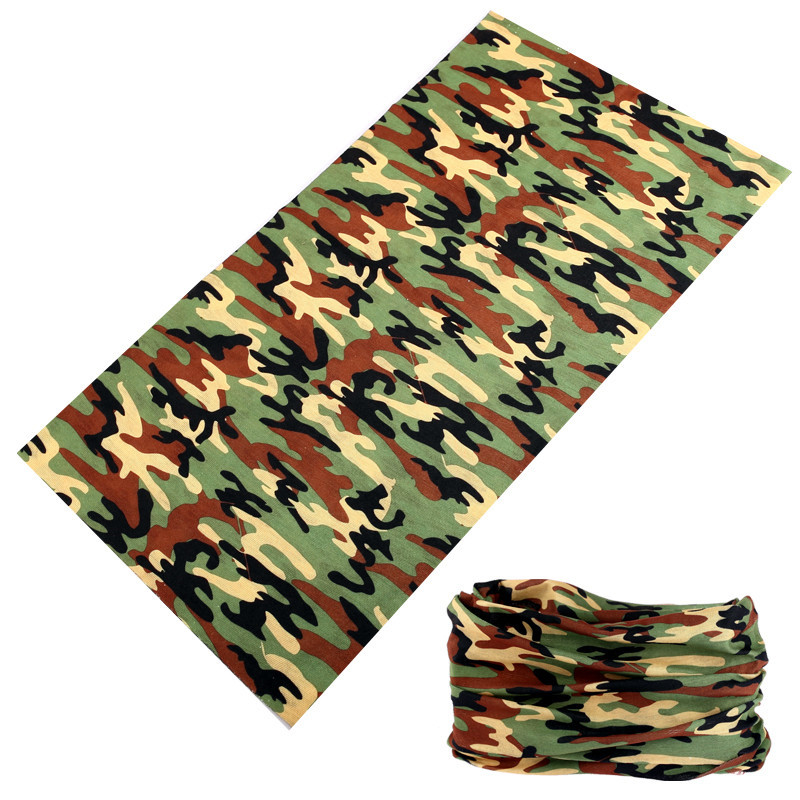 Multifunctional Camouflage Scarf Magic Seamless Bandana Fishing Headwear Camo Multicam Bicycle Moto Sport Face Shield Mask buffe