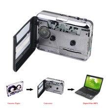 Top Qualité USB2.0 Bande Portable pour PC Super Cassette À MP3 Audio Musique CD Numérique Lecteur Converter Capture Enregistreur + casque
