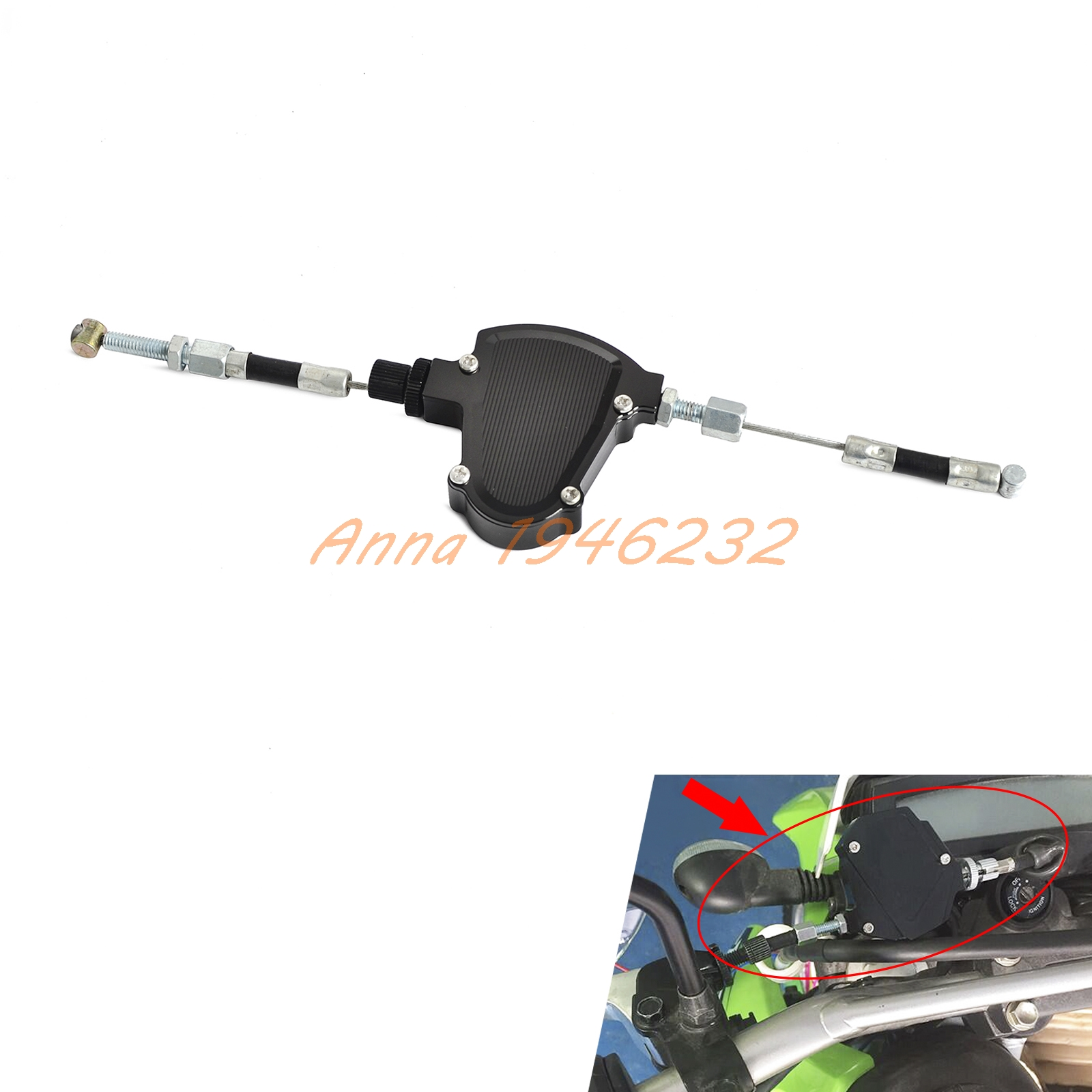 CNC Universal Stunt Clutch Easy Pull Cable System Motorcycles Dirt Bike For Honda