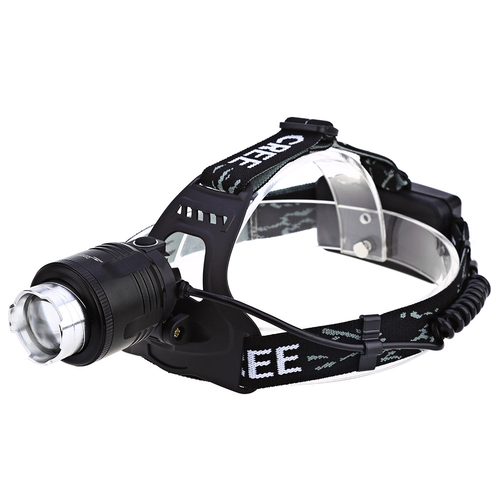 Hot Waterproof T6 LED Headlight Headlamp For Camping Hiking rechargeable Head Lamp Light Zoomable 4-mode Adjust Focus light hot waterproof t6 led headlight headlamp for camping hiking rechargeable head lamp light zoomable 4 mode adjust focus light