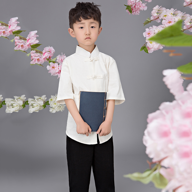 2017 autumn classic chinese style costume kid child girl tang suits shirts with pants skirts traditional cotton hanfu clothes hwyhx 2016 new split type child girl floral pattern lovely swimsuits kid swimwear skirts best price