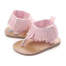 Tassel First Walkers Baby Girls Sandals